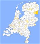 Kaart Nederlandse Familienamenbank: Lasker